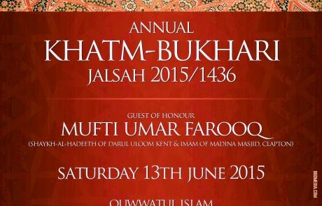 Khatme Bukhari Jalsah RED