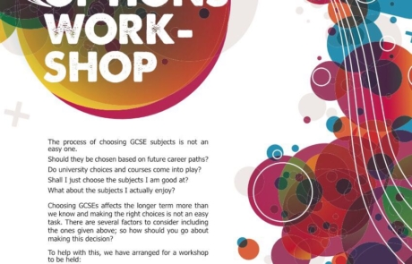 GCSE Options Workshop