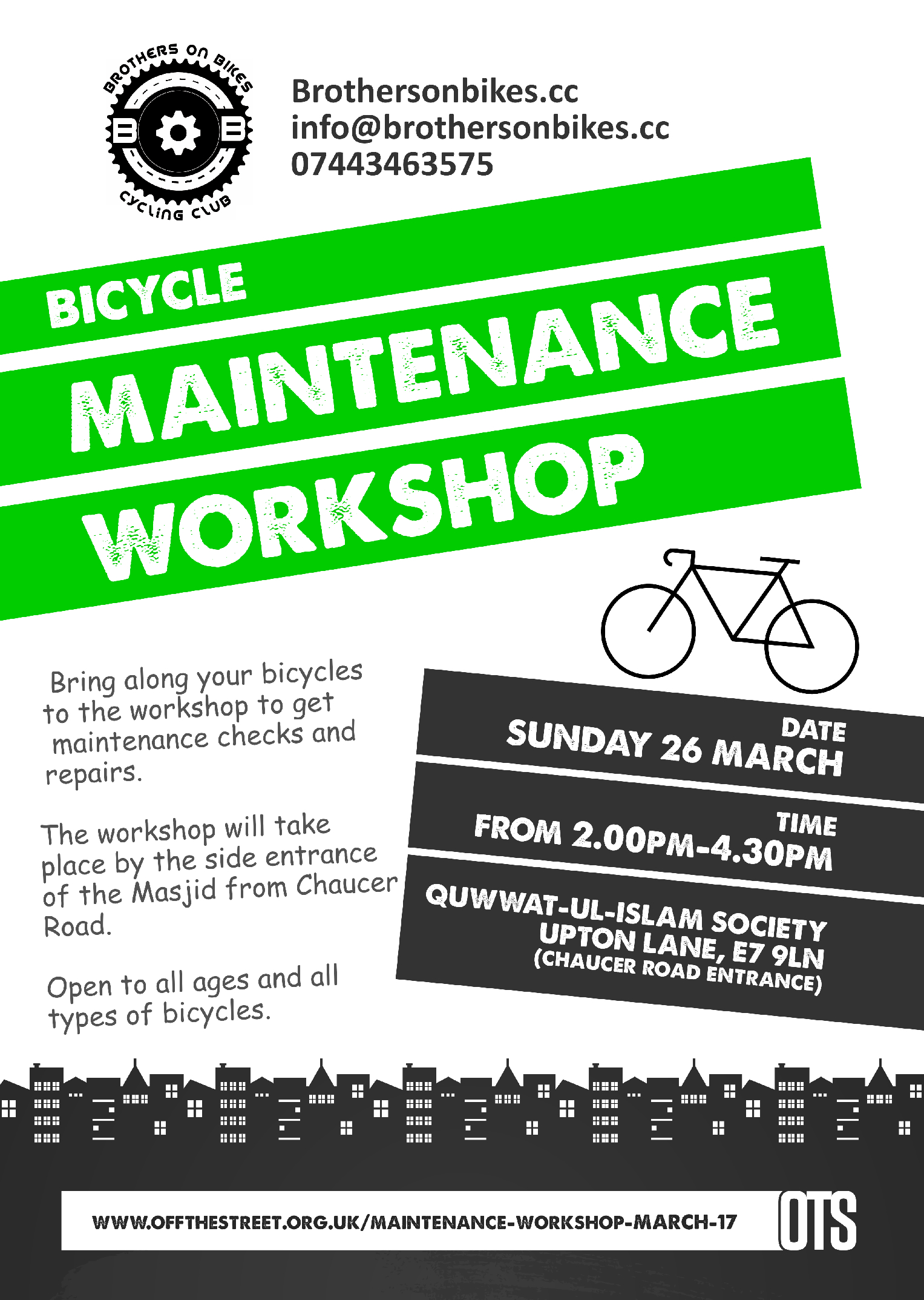 Bicycle Maintenance Workshop_March 2017