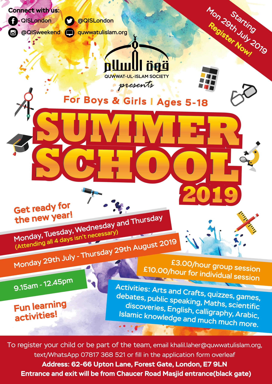 Quwwat-ul-Islam – QIS Summer School 2019